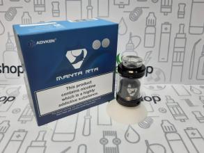 Бак RTA MANTA resin tube Advken 24mm 4,5ml